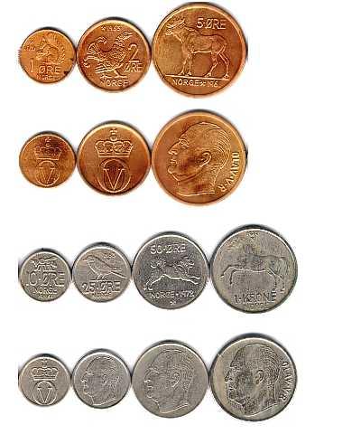 Монеты норвегии фото 1000 долларовая купюра купить