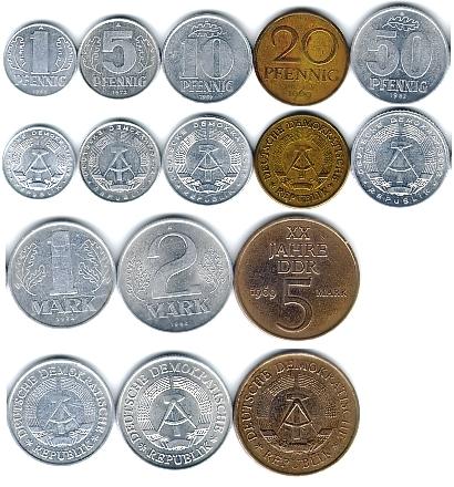 Фрг монеты сколько стоит монета 1 злотый польша1957 года цена